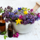bachi oieteraapia tervendamine labi lillede