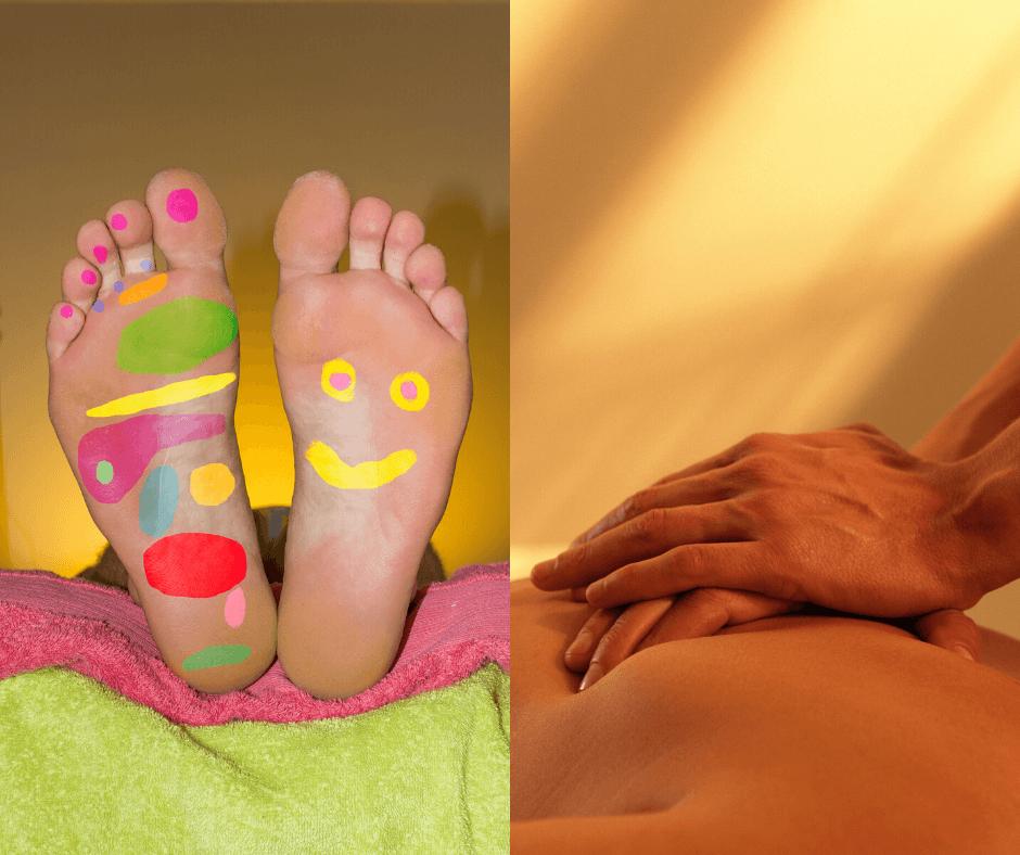 REFLKSOLOOGILINE MASSAAŽ – jalad või kogu keha (Helje Kasearu) vastuvõtt ja vaba aeg.