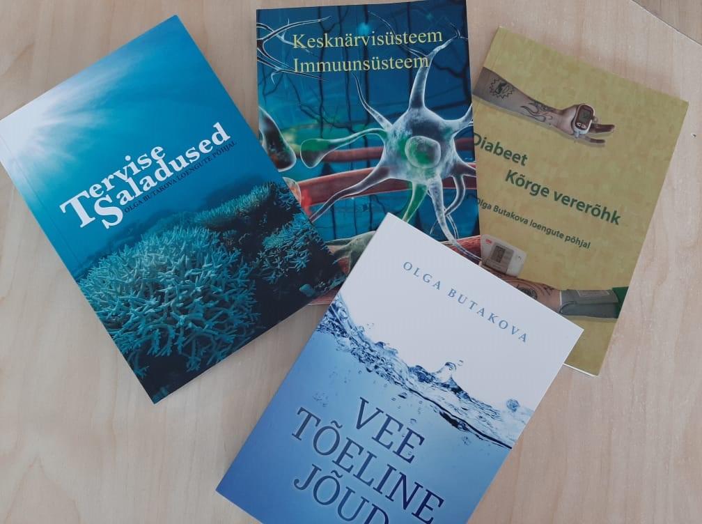 Dr. Olga Butakova 4 raamatu komplekt nüüd 3 raamatu hinnaga!